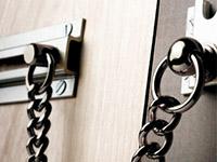 home security door chain
